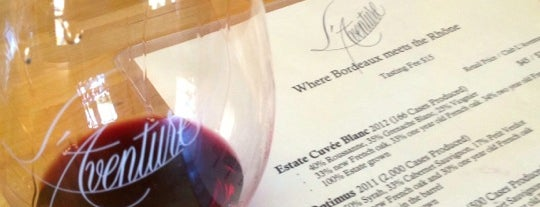 L'Aventure Winery is one of Paso Robles by WS.