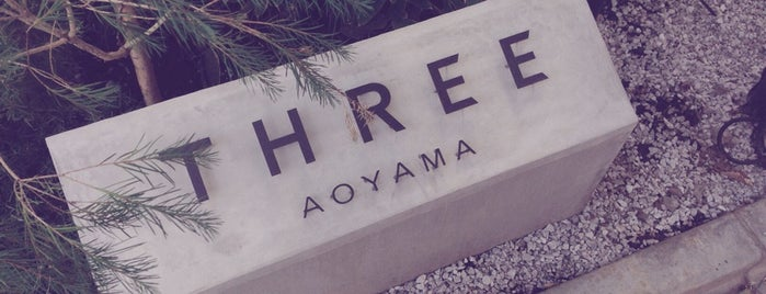THREE AOYAMA is one of gift.