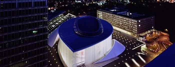 Philharmonie Luxembourg is one of Luxe Lux.