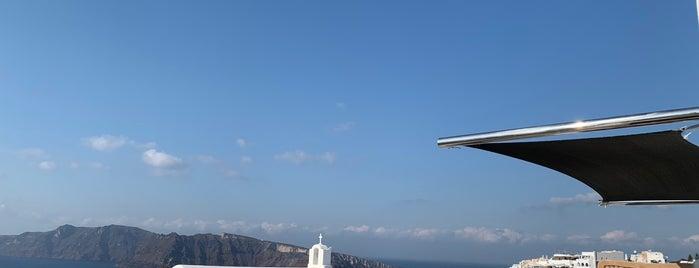 Passaggio is one of Santorini.
