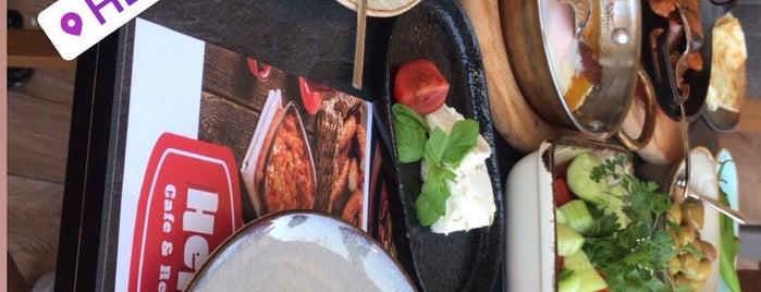 Hellim Cafe & Restaurant is one of Orte, die Alp Gökçe gefallen.