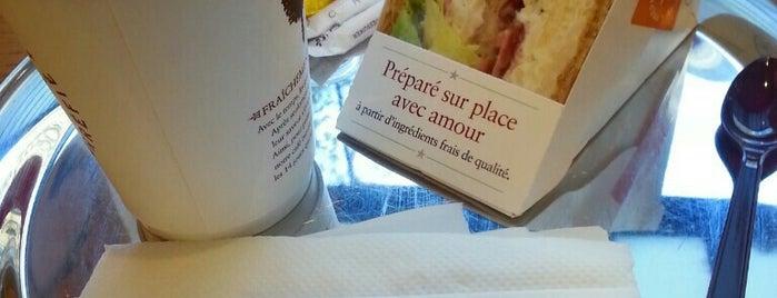 Pret A Manger is one of Paris.