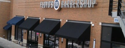 Floyd's 99 Barbershop is one of Eric : понравившиеся места.