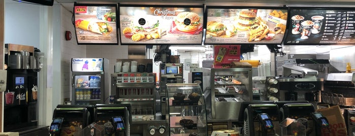 McDonald's is one of Orte, die Dafydd gefallen.