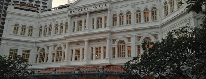 Raffles Hotel is one of Must Visit Places in Singapore.