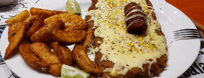 Locos Por Las Milanesas is one of Locais salvos de Oscar.