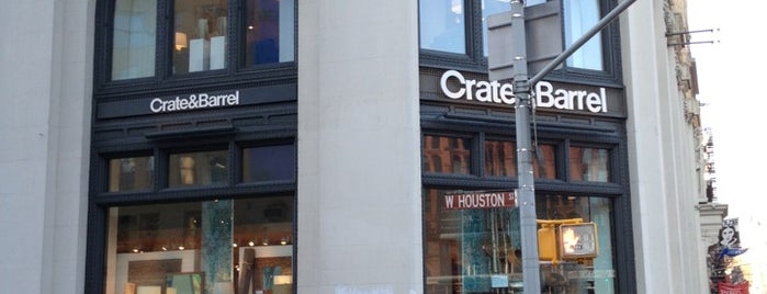 Crate & Barrel is one of NYC.