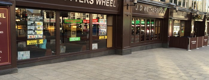 The Potters Wheel (Wetherspoon) is one of Swansea.
