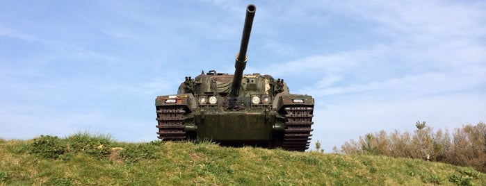 The Tank Museum is one of South West UK.