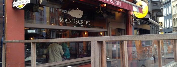 Manuscript is one of Tempat yang Disimpan Nik.