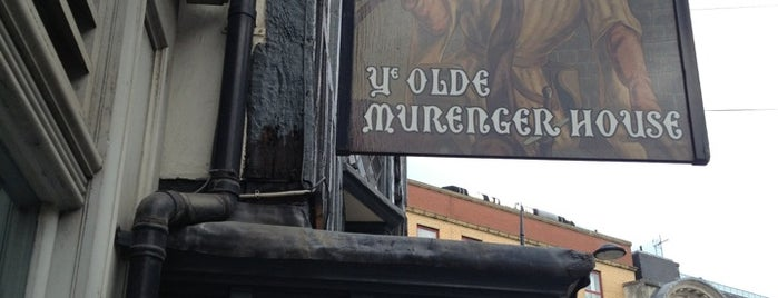 Ye Olde Murenger is one of Lugares favoritos de Carl.