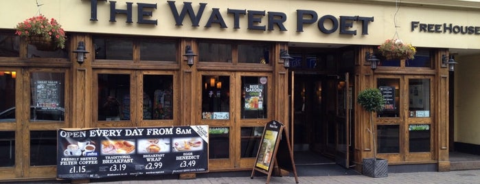 The Water Poet (Wetherspoon) is one of Carl 님이 좋아한 장소.