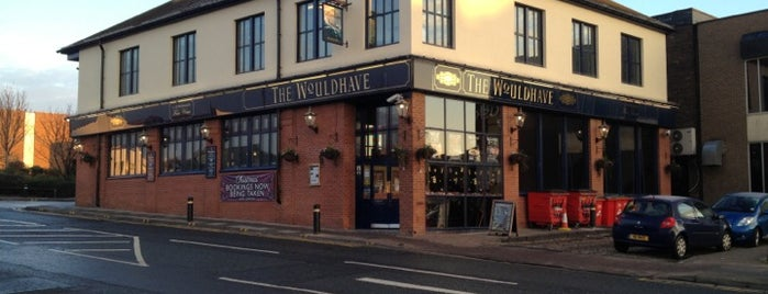 The Wouldhave (Wetherspoon) is one of Carlさんのお気に入りスポット.