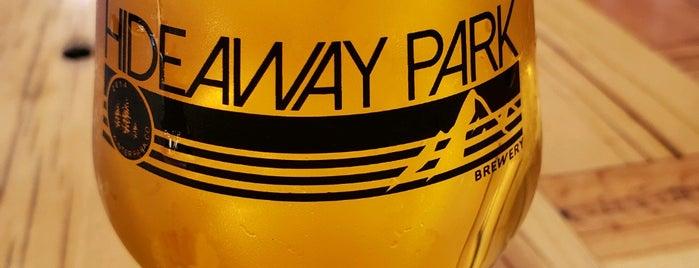 Hideaway Park Brewery is one of CO Brews.