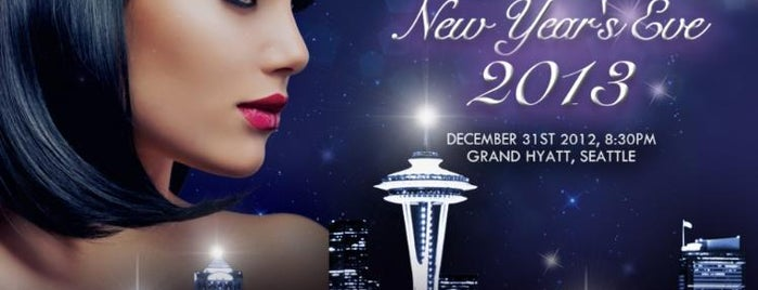 Grand Hyatt Seattle is one of Seattle New Years Eve 2013 - Seattle NYE Parties.
