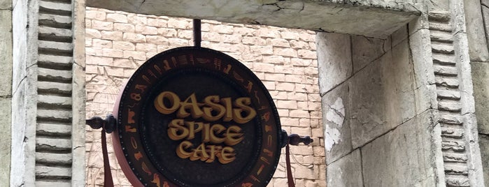 Oasis Spice Cafe is one of Halal Restaurants in Universal Studios Singapore.