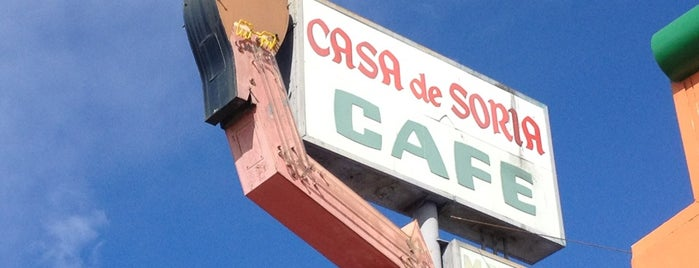 Casa De Soria is one of Northern CALIFORNIA: Vintage Signs.