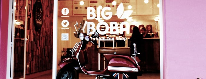 Big Boba Bubble Tea Shop is one of Chile.