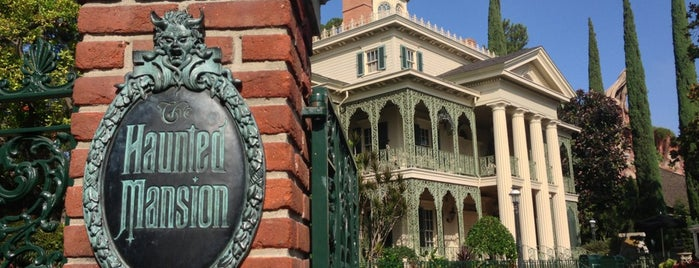 Haunted Mansion is one of Theme Parks!.