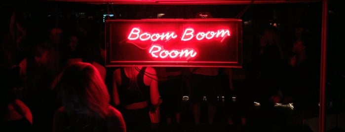 Boom Boom Room is one of Newport favorites.