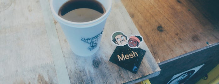 cafe Mesh is one of Coffee Excellence.
