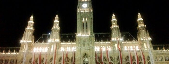 Wiener Rathaus is one of Vienna - Wien - Viedeň.