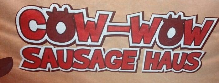 Cow-Wow Sausage Haus is one of Lieux sauvegardés par iSA 💃🏻.