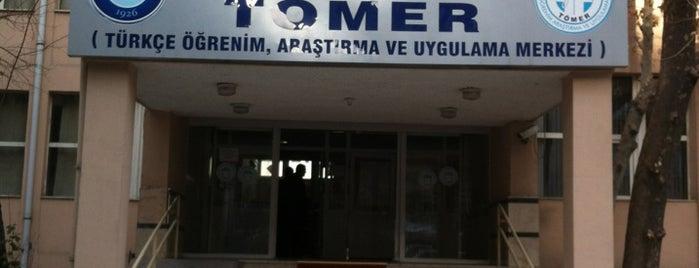 Gazi Üniversitesi Tömer is one of Merve : понравившиеся места.