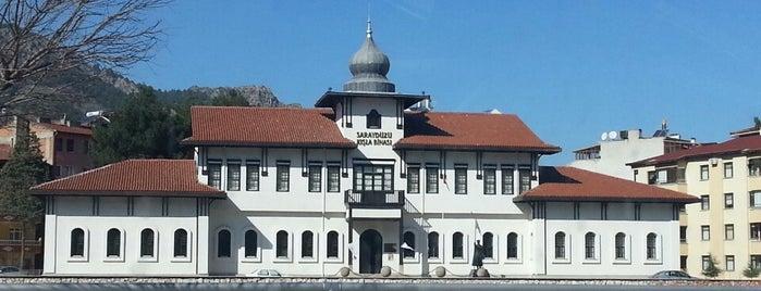Saraydüzü Kışla Binası Milli Mücadele Müzesi is one of Amasya Listem.