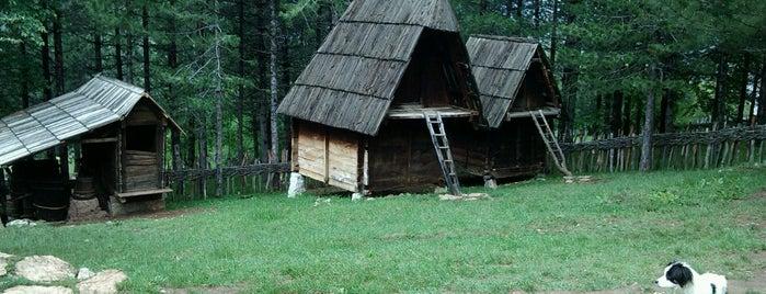 Muzej na otvorenom Staro selo Sirogojno is one of Gespeicherte Orte von Mina.