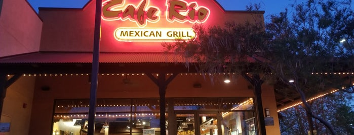 Cafe Rio Mexican Grill is one of Vegas.