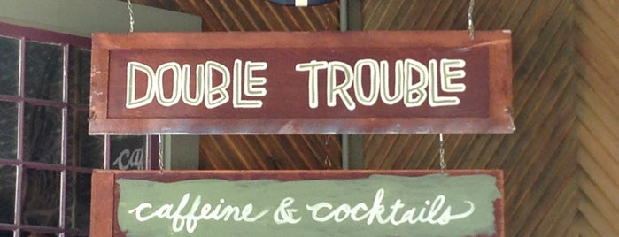 Double Trouble Caffeine & Cocktails is one of Lugares favoritos de Rebecca.