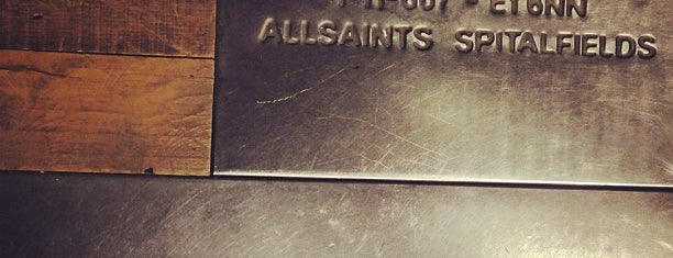 AllSaints is one of Paris.