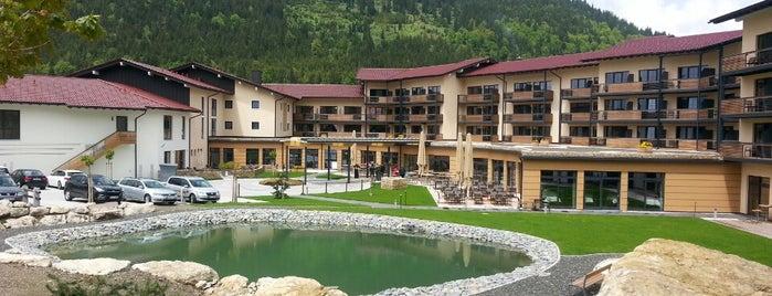 Panoramahotel Oberjoch is one of Lieux qui ont plu à Nim.