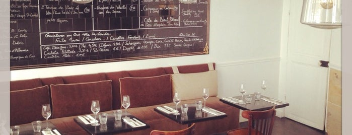 Le Bon Georges is one of paris eats.