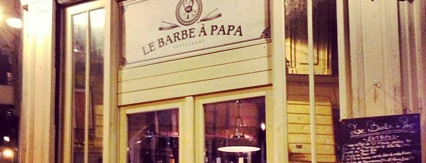 Le Barbe à Papa is one of Restaurants parisiens.