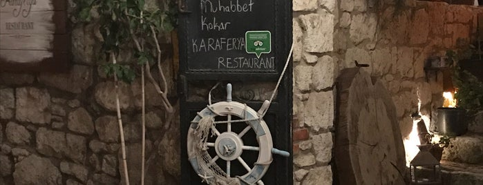 Karaferya Restaurant is one of Locais curtidos por Murat.