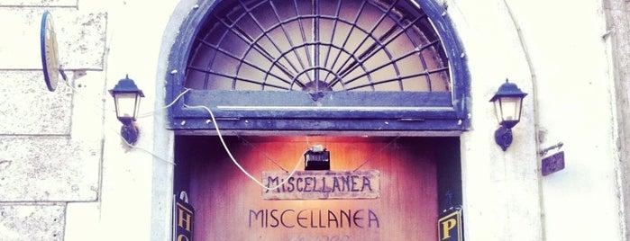 Miscellanea is one of Рим.