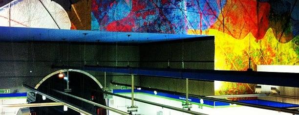 Metro La Latina is one of Spain.