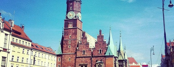 Town Hall is one of Wroclaw to see/eat/drink (Poland).
