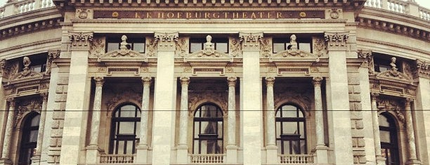 Burgtheater is one of Wien-Tips.