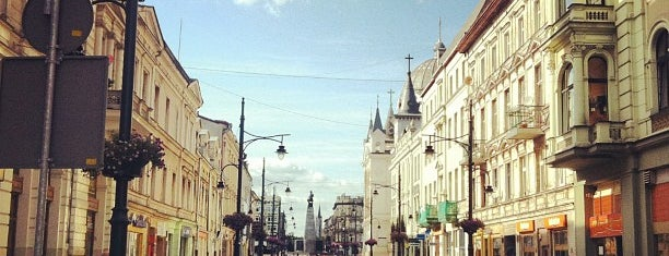 Piotrkowska is one of Łódź.