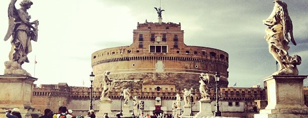 Castel Sant'Angelo is one of Tempat yang Disimpan Spencer.