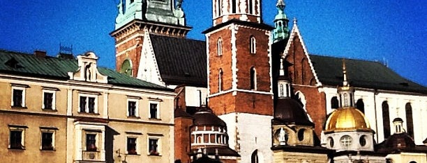 Wawel Castle is one of Krakow.