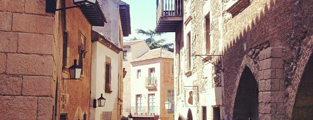 Poble Espanyol is one of Barcelona Essentials.