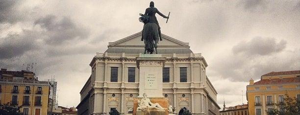 Plaza de Oriente is one of Spain.