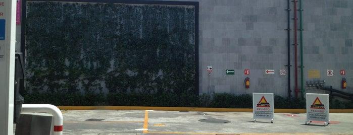 Pemex is one of Jardines verticales.