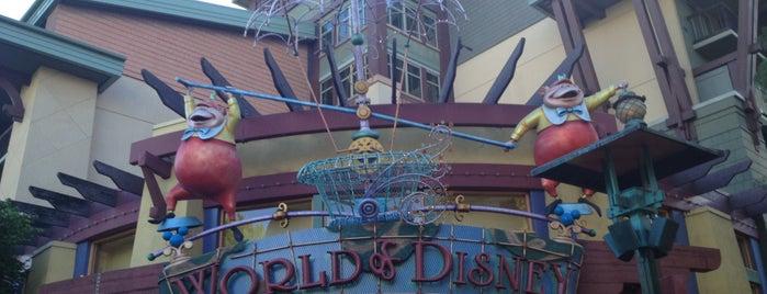 World of Disney is one of Disneyland Resort.