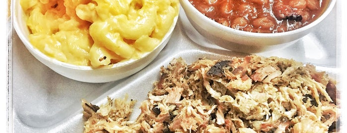 Poole's BBQ is one of Orte, die Jamie gefallen.