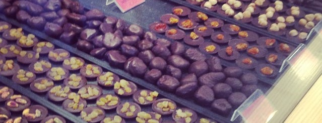 Chocolatier Laurent Gerbaud is one of S Marks The Spots in BRUSSELS.